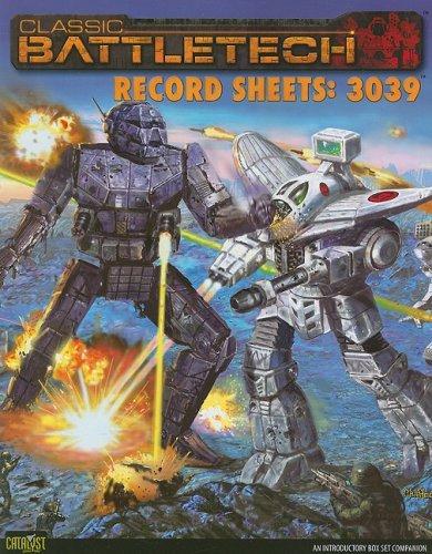 Classic Battletech Record Sheets: 3039