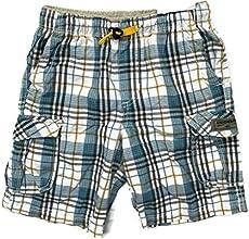 Unionbay Boys Cotton Blend Plaid Cargo Drawcord Short