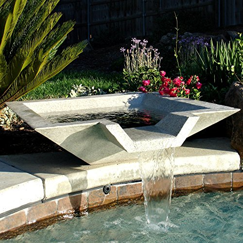 kutstone-cubic-scupper-fountain-24-inch-speckled-granite