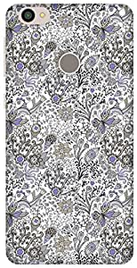 The Racoon Grip Blue Fly Now hard plastic printed back case / cover for Letv Le 1s