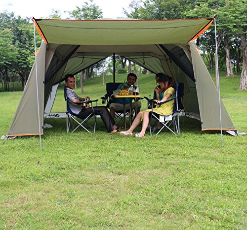 Outdoor-Sports-5-8-People-Large-Beach-Canopy- & Outdoor Sports 5-8 People Large Beach Canopy UV UPF 50+ Protection ...