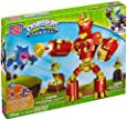 Mega Bloks Skylanders Giants Arkeyan Robot King, Transforming Pop-Fizz