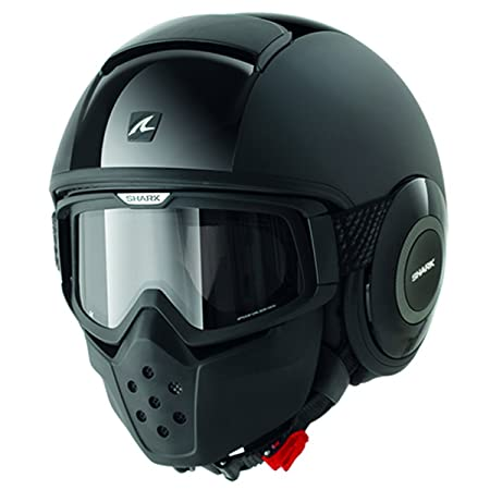 Shark - Casque Shark RAW Dual Black - Noir - S
