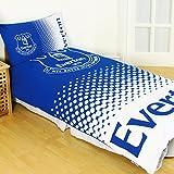Everton FC Fade Reversible Double Duvet Cover and Pillow Case Set