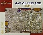 Map of Ireland 500-piece Jigsaw Puzzle