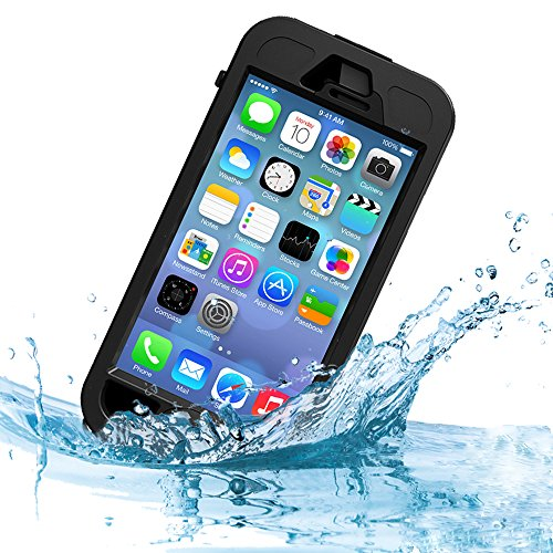 Ultraproof Waterproof Protective Case For Iphone 5 [Lifetime Warranty] - Fits Any Version Of Iphone 5 And Work With Iphone 5S With Minor Limitations - Slimmest Profile With Capability Of Waterproof, Shockproof, Sandproof, Snowproof