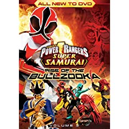 Power Rangers Super Samurai: Rise of Bullzooka Vol. 3