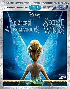 Le Secret des ailes magiques [Blu-ray 3D + Blu-ray + DVD + copie numérique] (Bilingual)