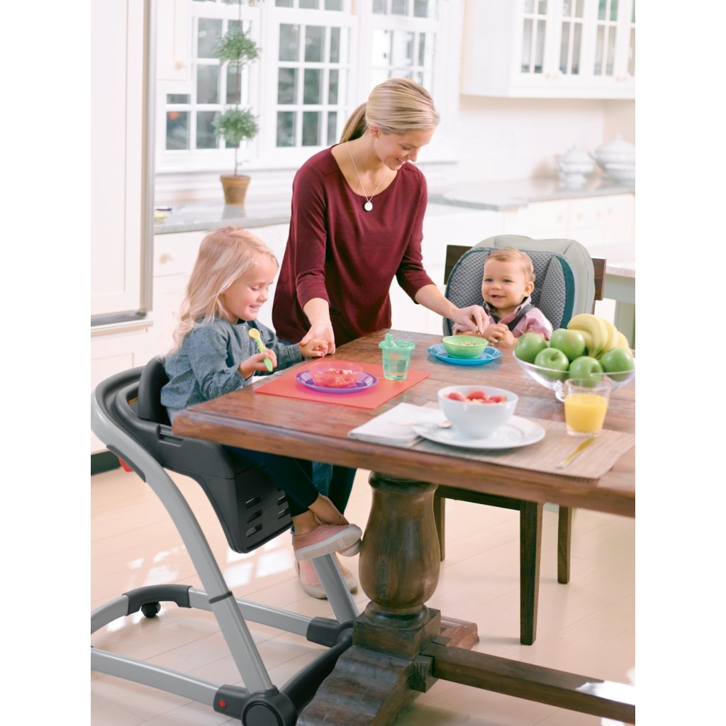 Graco Blossom 4 in 1 Convertible High Chair Seating System, Sapphire