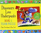 Claire Freedman Dinosaurs Love Underpants Book and Jigsaw