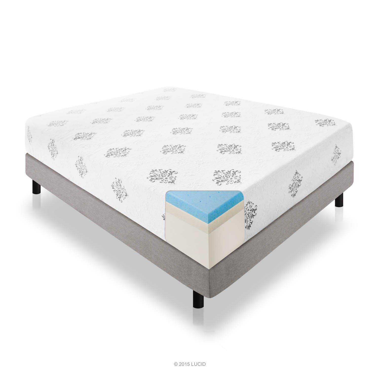 Gel Foam  Certipur Us Certified Foam  Year Warranty