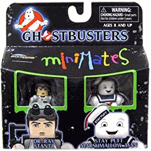 Ghostbusters Minimates Dr. Ray Stantz & Stay Puft Marshmallow Man