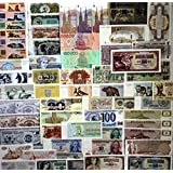 50 Different Banknotes,Uncirculated Mint World Lot!