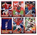 2015 Topps Baseball Cards Washington Nationals Team Set (Series 1- 12 Cards) Including Jayson Werth, Tanner Roark, Jordan Zimmermann, Gio Gonzalez, Wilson Ramos, Doug Fister, Michael Taylor Team Card, Bryce Harper, Anthony Rendon, Ryan Zimmerman, Danny Es