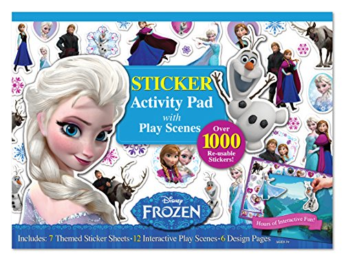 Bendon Frozen Ultimate Sticker Activity Pad