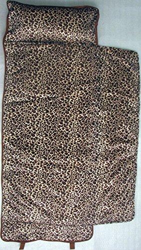Soho Nap Mat ,Classic Brown Leopard Print Chenille front-489665