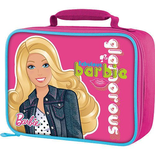 Thermos Barbie Glamorous Glitter Insulated Pink Lunch Bag - 1