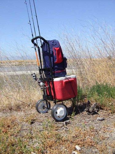 Homemade surf fishing rod holders car interior design for Homemade fishing cart