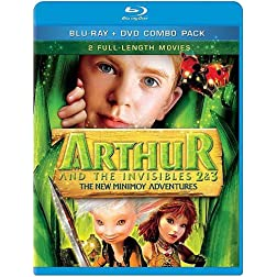 Arthur & the Invisibles 2&3-New Minimoy Adventures
