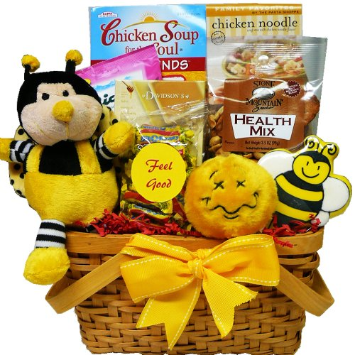 Art of Appreciation Gift Baskets Bee Better Soon Snacks and Treats Gift Basket