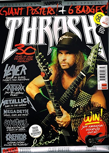METAL HAMMER PRESENTS? THRASH Collectors' Fan Pack (Bookazine, badges, poster)