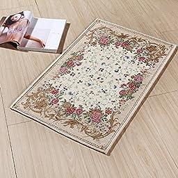 XH@G Water absorption-sliding door carpet doormat mat door mat bedroom living room padded kitchen mat , 60*90cm