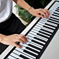 Amorus® 88 Keys USB MIDI Flexible Roll-up Electronic Piano Keyboards