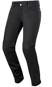 Alpinestars Daisy Women's denim jeans pour moto Taille: 32-Couleur: Noir