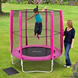 Plum Products 6ft Trampoline and Enclosure - Pink