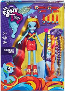 My Little Pony Equestria Girls Radical Hair Rainbow Dash