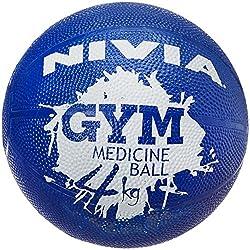 Nivia Medicine Ball, 4kg (Purple)