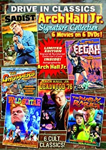 Arch Hall, Jr. Signature Collection: The Sadist / The Choppers (Bonus: Arch Hall Jr. Story) / Wild Guitar / Eegah / Deadwood '76 / Nasty Rabbit (6-DVD)