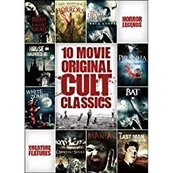 10-Film Horror Cult Classics Collection