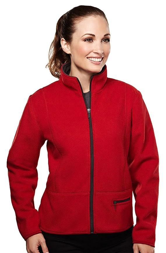 Tri-Mountain Women's 3-Layer Fleece Jacket