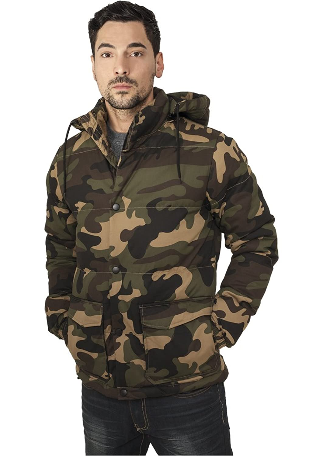 URBAN CLASSICS - Camo Winter (woodcamo) - Jacke