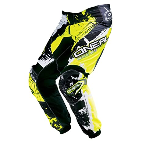 Pantalon Motocross Oneal 2016 Element Shocker Noir-Hi Vis (36 Taille = Fr 46 , Noir)