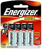 Energizer MAX Alkaline Battery E91BP4 AA - Total 4 AA Batteries
