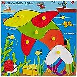 Skillofun Skillofun Theme Puzzle Standard Dolphin Knobs Multi Color
