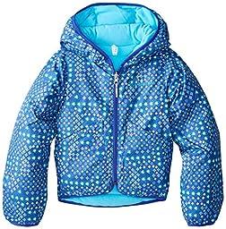 Columbia Little Girls\' Dual Front Jacket, Light Grape Print, XX-Small