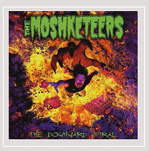 CD : Moshketeers - Downward Spiral (CD)
