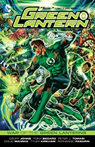Green Lantern: War of the Green Lanterns (Green Lantern (Graphic Novels)) by Geoff Johns and Various