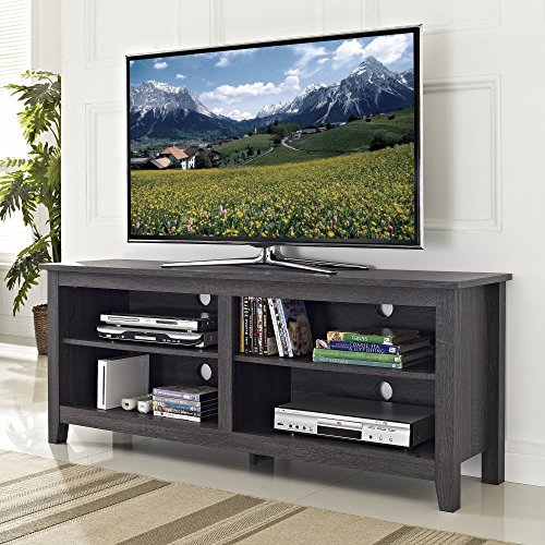 we-furniture-58-wood-tv-stand-storage-console-charcoal