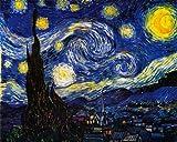 絵画 ゴッホ 星月夜