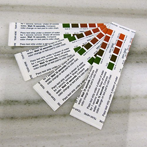 Water Hardness Test Stripes 4 Count For Espresso, Coffee And Tea Lovers