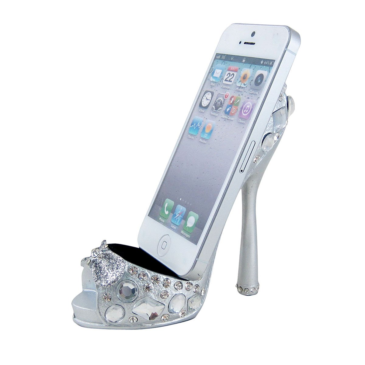 high heel cell phone holder