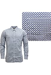 French Connection Men's Aztec Long Sleeve Shirt