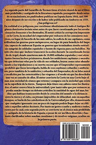 La segunda parte de Lazarillo de Tormes: El Lazarillo prohibido