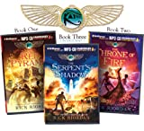 Rick Riordans The Kane Chronicles (Bundle): The Red Pyramid, The Throne of Fire, The Serpents Shadow