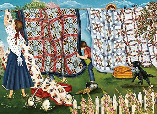 Cobble Hill Laundry Line Jigsaw Puzzle, 1000-Piece