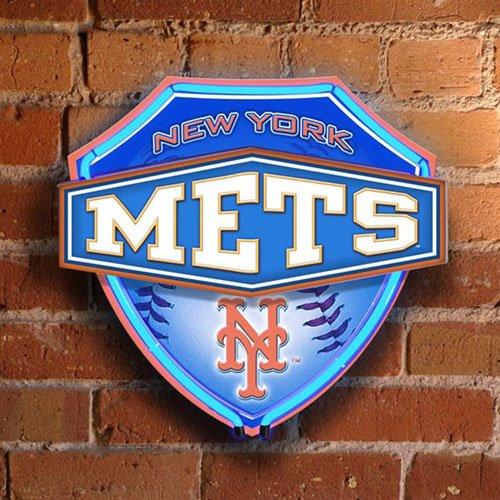New York Mets Neon Light, Mets Neon Sign, Neon Mets Light